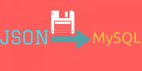tipe data json di mysql database beserta contoh insert, update, select