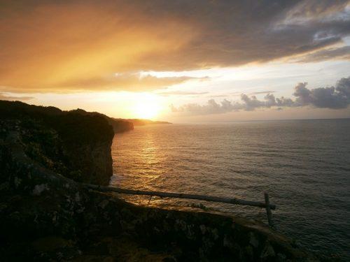 sunrise dipantai bekah