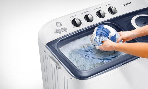 Cara Menggunakan Mesin Cuci 2 Tabung untuk Pakaian